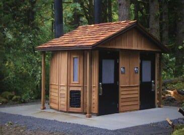 SST Waterless Restroom in Remote Park