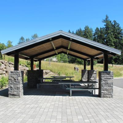 Steel Post Pavilion
