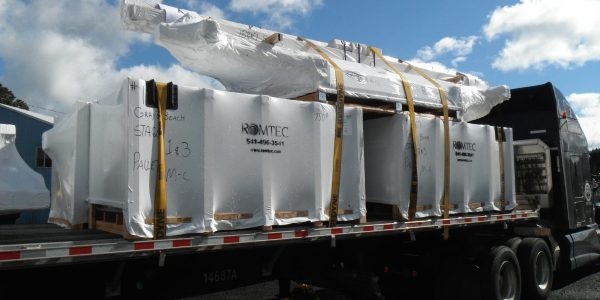 Shipment of Building