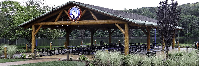 Large Log Pavilion