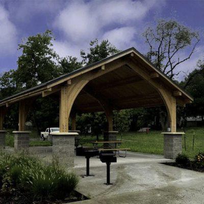 Custom Pavilion for Picnic Area