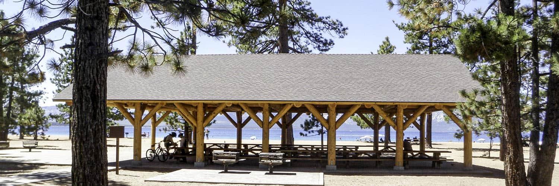 Extra Large Log Pavilion