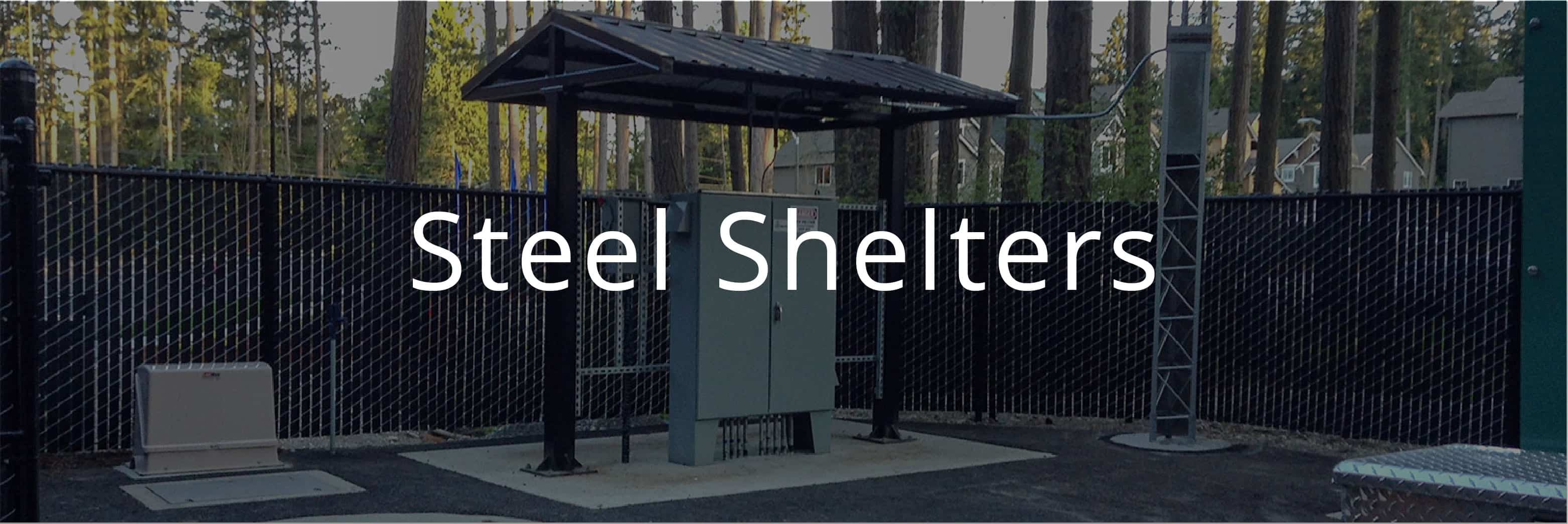 Small Steel Framed Shelters
