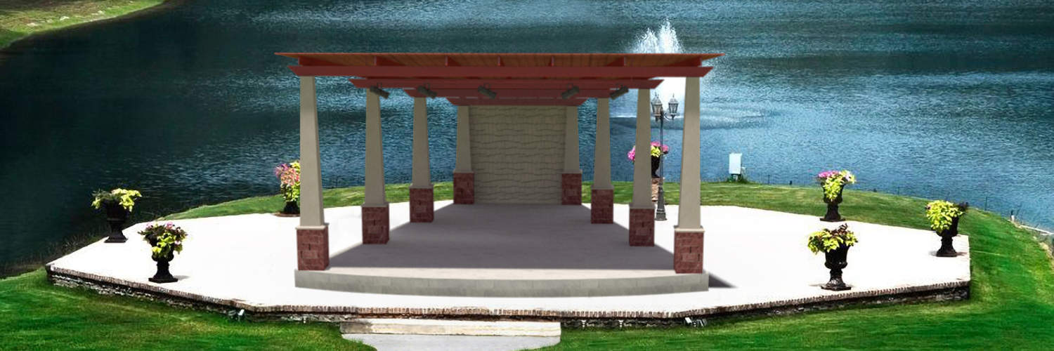 Large Covered Amphitheater for Park Venue