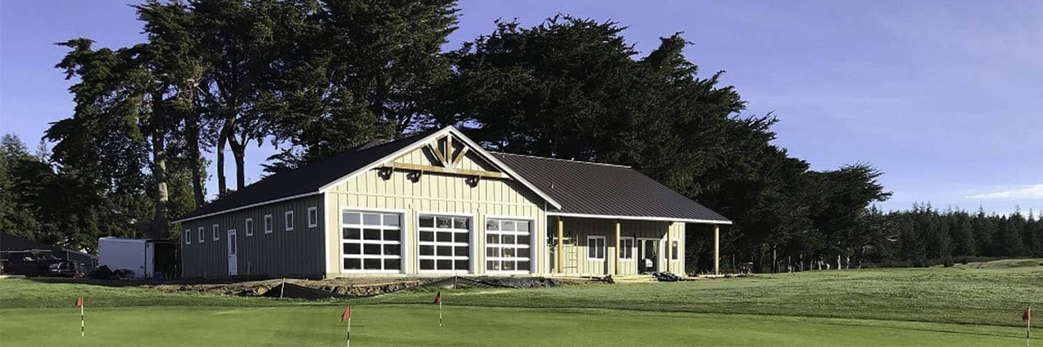 Golf House with Retail Area and Concession