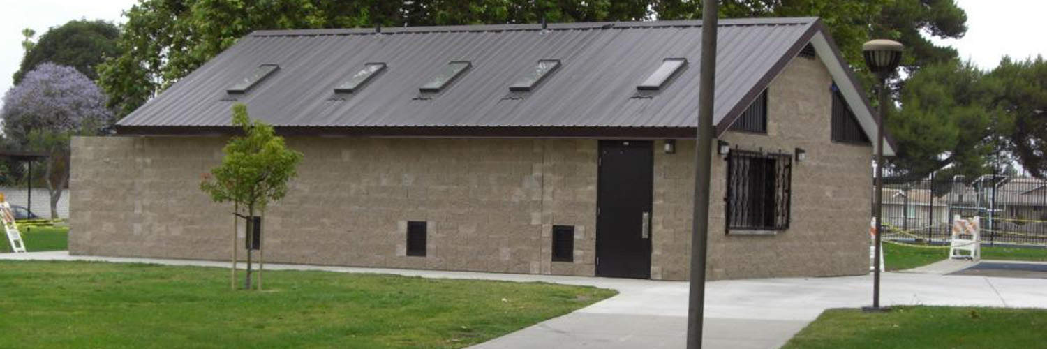 Concession Building with Multi-User Restrooms