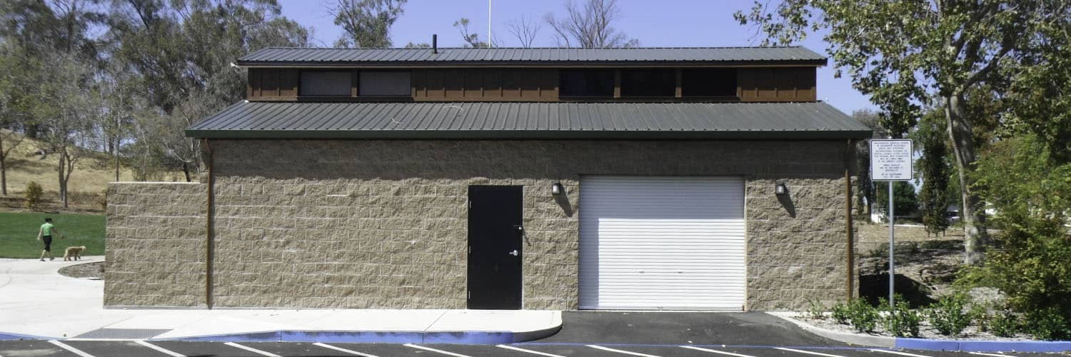 Utility Space and Restroom Building