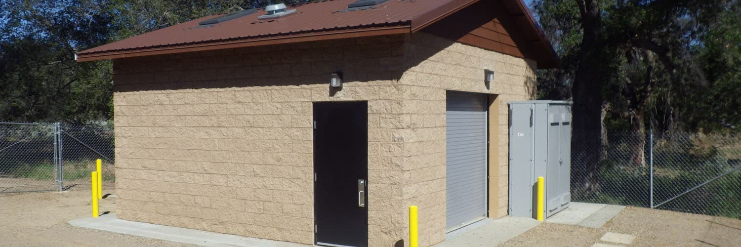 Utility Building for Wastewater Pump