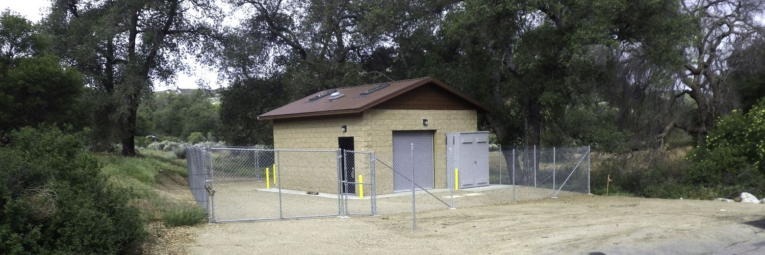 Utility Building with Booster Pump Station