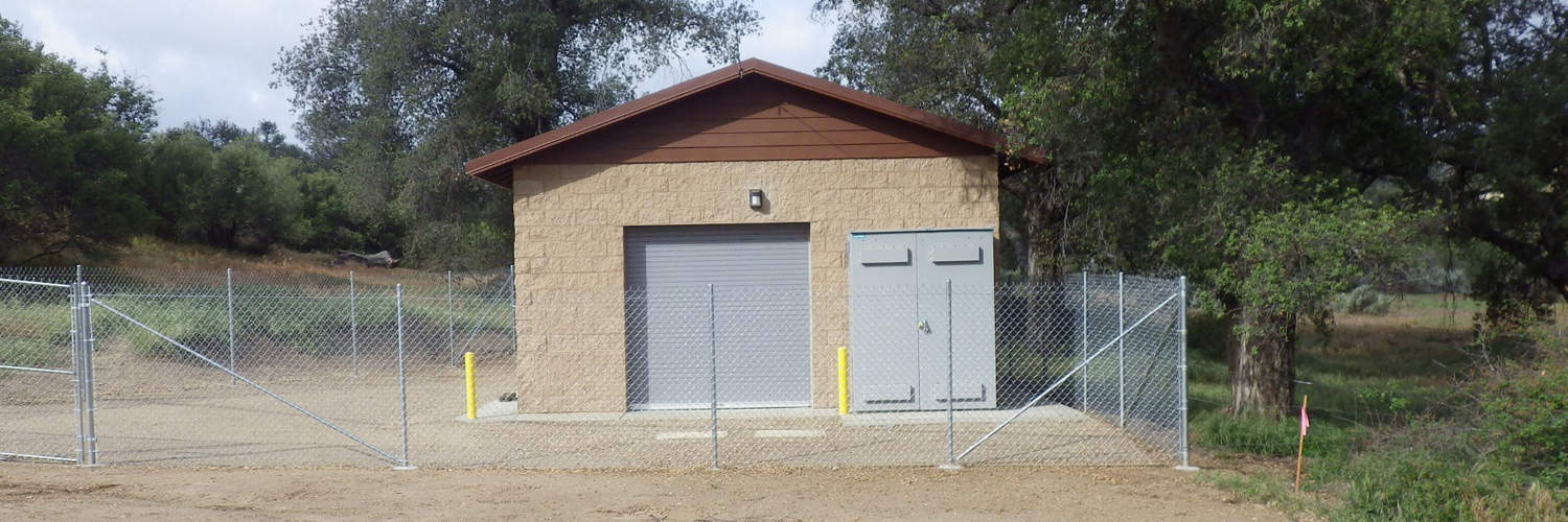 Maintenance Building with Rollup Doors