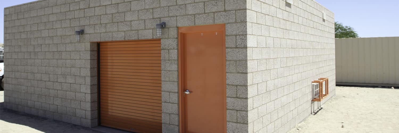 Custom Utility Building with Multi-User Restroom
