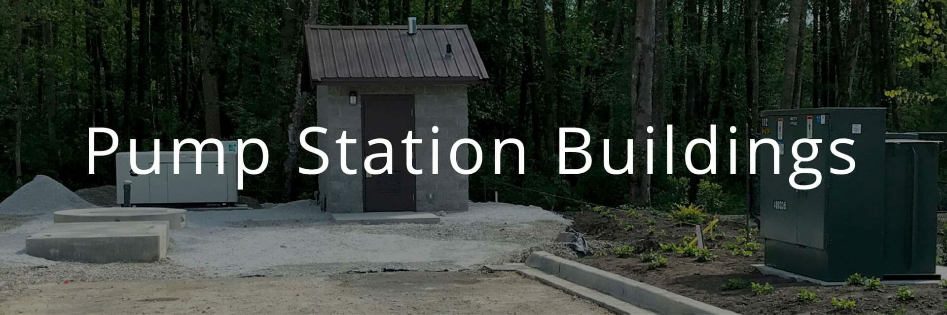 Small Utility Structure for Pump Station