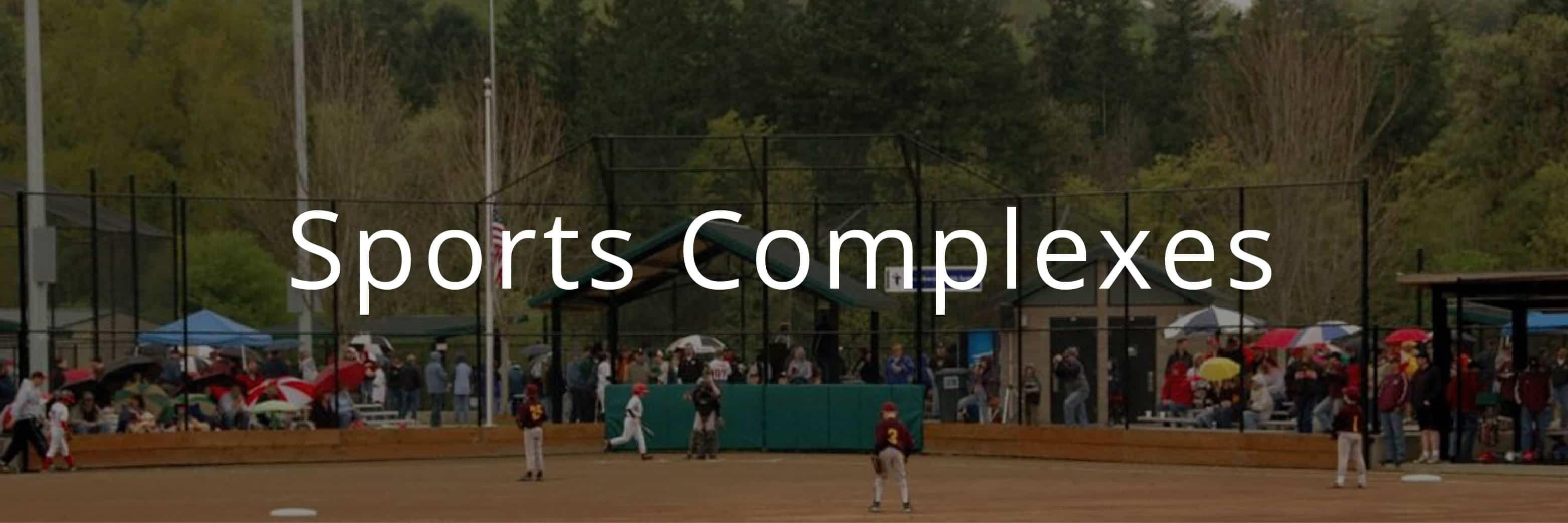 Standard Sierra Restroom at Community Baseball Fields