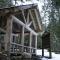Model 3003 Log Pavilion with Railing