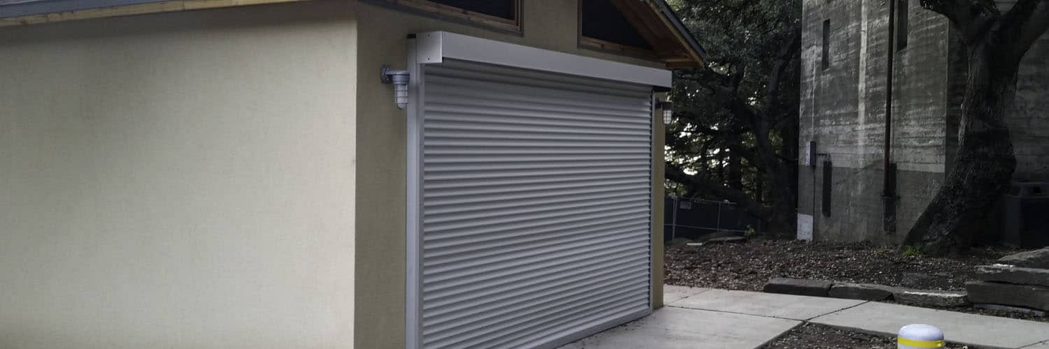 Utility Building with Roll-up Door