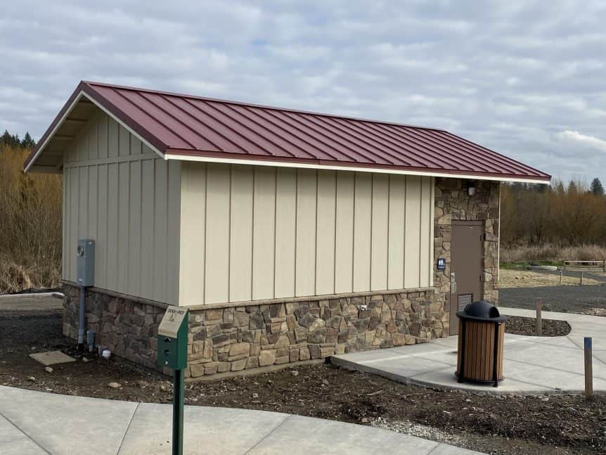 Community Restroom and Maintenance Storage Room