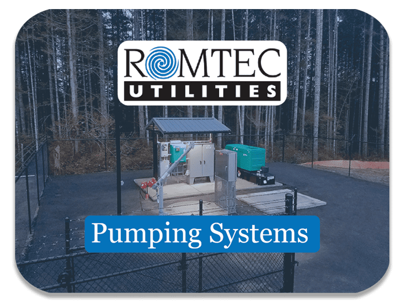 Pumping Systems Sold by Romtec Utilities
