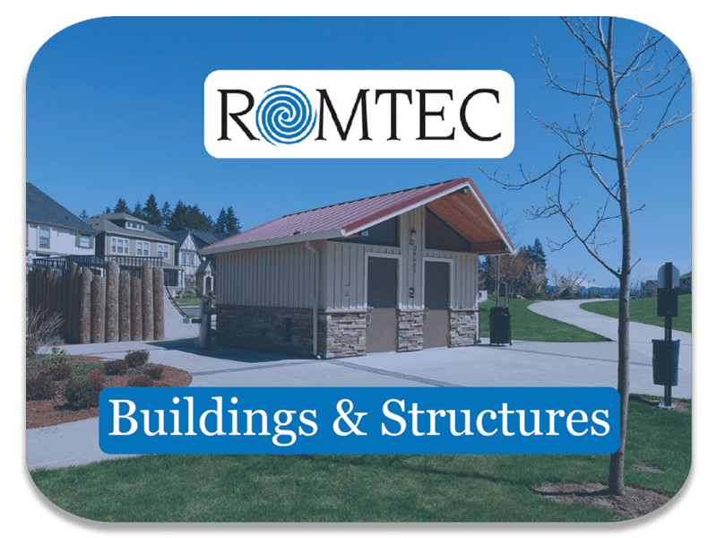 Buildings and Structures Sold By Romtec