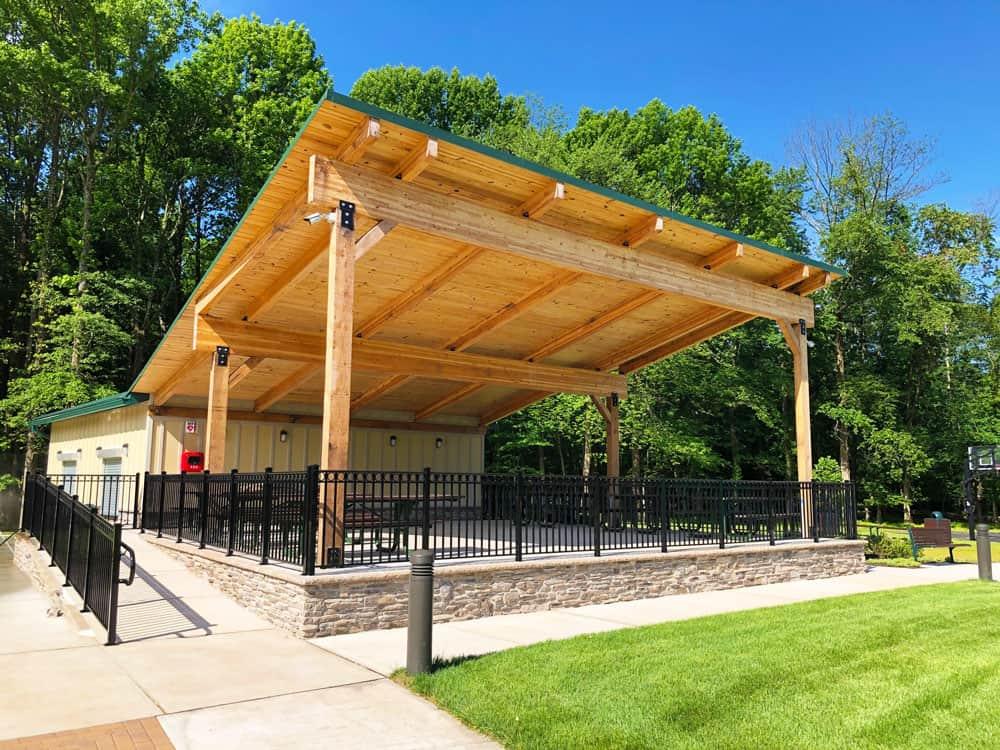 Amphitheater Style Pavilion